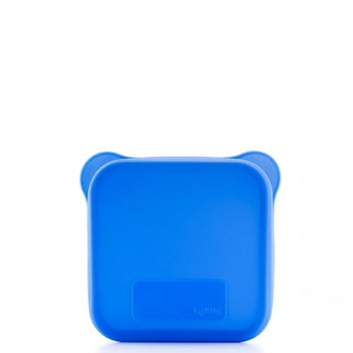 Lekue Lekue etui na kanapkę, kwadratowe, kolor niebieski