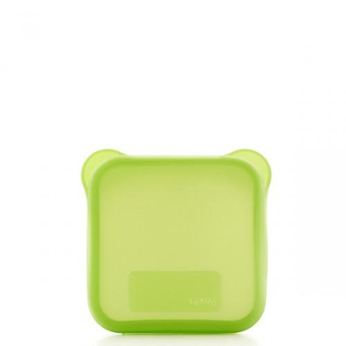 Lekue Lekue etui na kanapkę, kwadratowe, kolor zielony