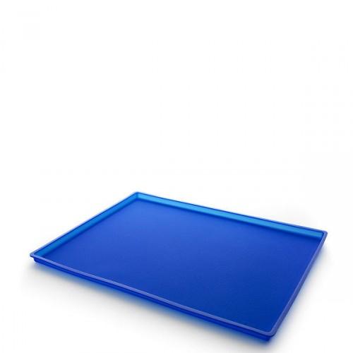 Lekue Classic mata do pieczenia z rantem, kolor niebieski