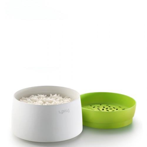 Lekue Native naczynie do gotowania ryżu i kaszy