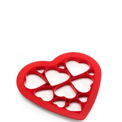Lekue Puzzle Hearts forma do wykrawania ciastek