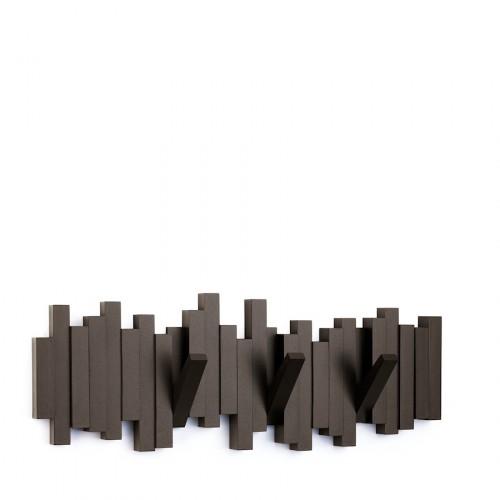 UMBRA Sticks listwa z wieszakami, espresso