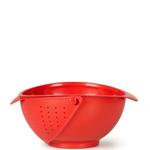 UMBRA Rinse bowl durszlak czerwony