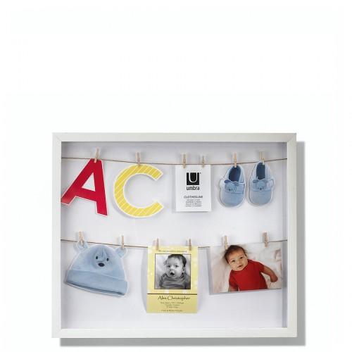 UMBRA Clothesline multiramka na pamiątki dziecka