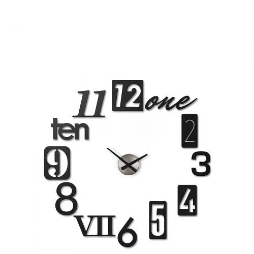 UMBRA Numbra zegar ścienny, 12 elementów