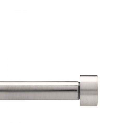 UMBRA Cappa Nickel karnisz z regulowaną długością pojedynczy