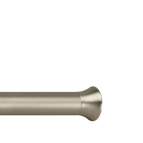 UMBRA Chroma Nickel karnisz z regulowaną długością rozporowy