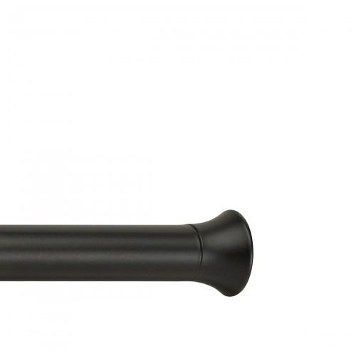 UMBRA Chroma Black karnisz z regulowaną długością rozporowy