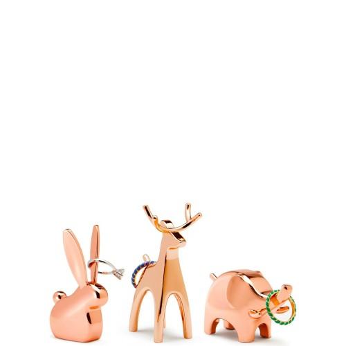 UMBRA Anigram Zestaw 3 zwierzaków na biżuterię