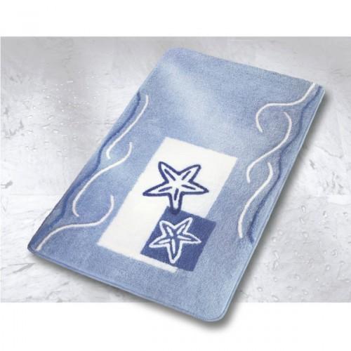 Meusch Starfish dywanik łazienkowy, niebieski