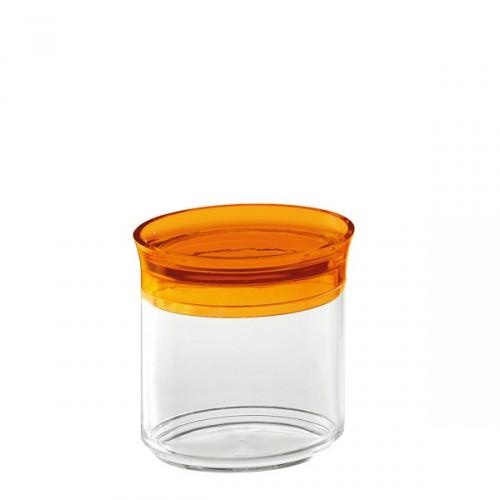 Guzzini Latina pojemnik kuchenny owalny, pomarańczowy
