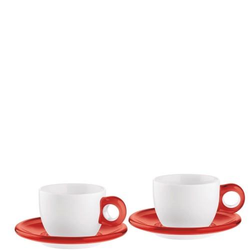 Guzzini Gocce filiżanki do cappuccino 2 szt.