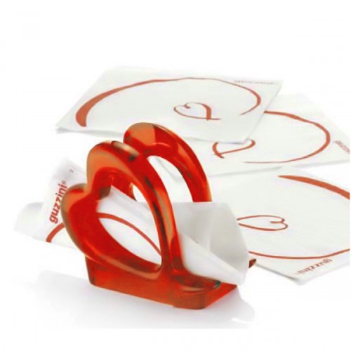 Guzzini Love serwetnik w kształcie serca
