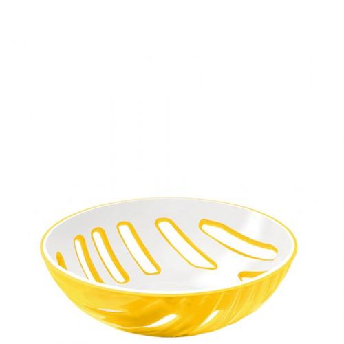 Guzzini Mirage koszyk na pieczywo, żółty