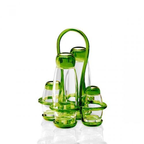 Guzzini Gocce  zestaw do przypraw, zielony