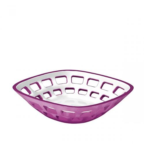 Guzzini Vintage koszyk na pieczywo, fioletowy