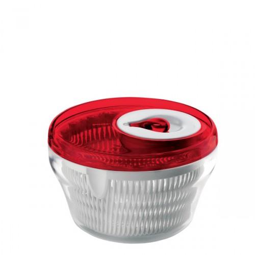 Guzzini Latina wirówka do sałaty, biało czerwona