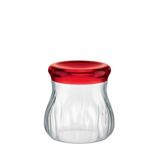 Guzzini Latina pojemnik kuchenny, pokrywka czerwona