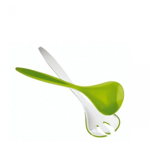 Guzzini Vintage łyżki do sałaty, zielony