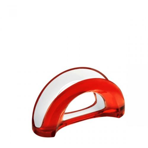 Guzzini Mirage serwetnik, czerwony