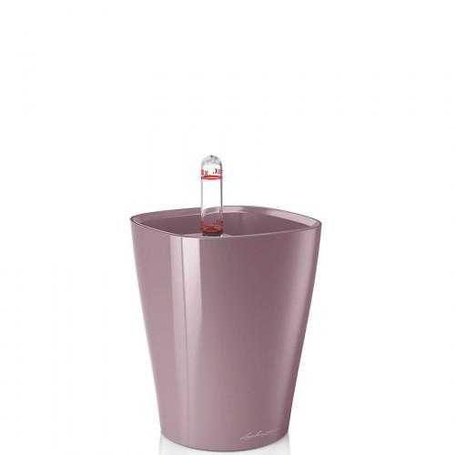 Lechuza Deltini Mini donica lakierowana połysk z wyjmowanym wkładem