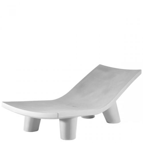 Slide Low Lita Lounge leżanka, kolor biały