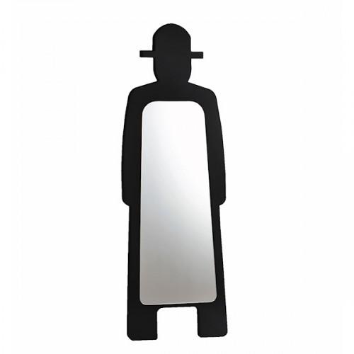 Slide Mr Gio Specchio drabina z lustrem, kolor czarny