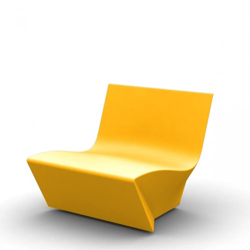 Slide KAMI Ichi krzesło, kolor żółty