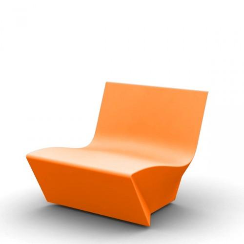 Slide KAMI Ichi krzesło, kolor pomarańczowy