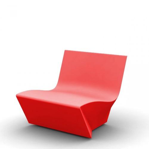 Slide KAMI Ichi krzesło, kolor czerwony
