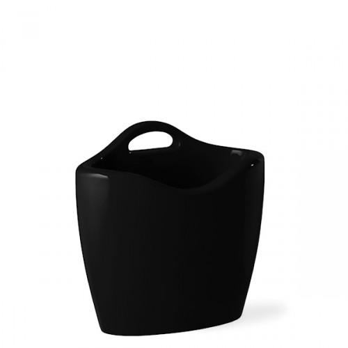Slide Mag stojak na czasopisma, kolor czarny