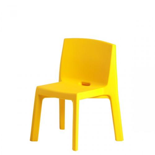 Slide Q4 krzesło, kolor żółty