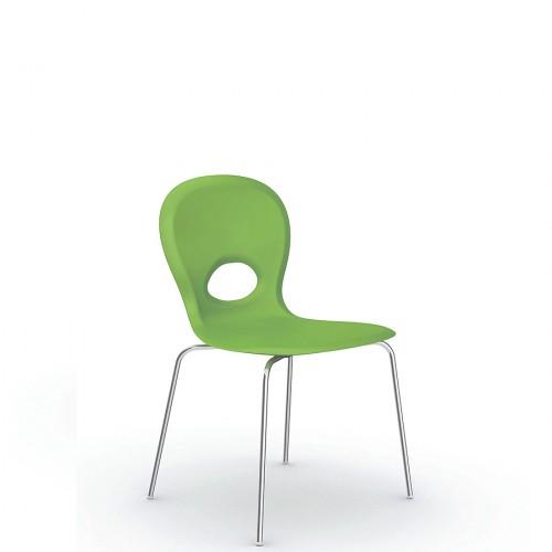 Slide Mou krzesło z oparciem