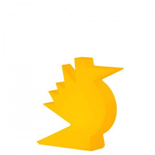 Slide Here lampa stołowa, kolor pomarańczowy