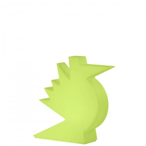 Slide Here lampa stołowa, kolor zielony