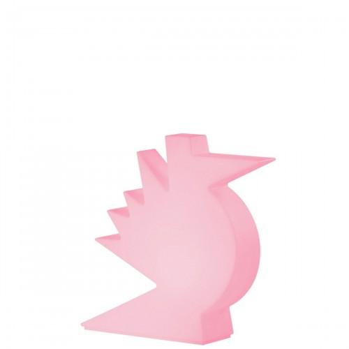 Slide Here lampa stołowa, kolor różowy