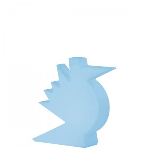 Slide Here lampa stołowa, kolor niebieski