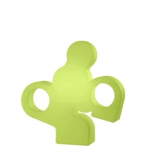 Slide There lampa podłogowa, kolor zielony
