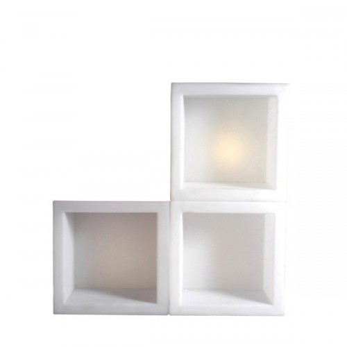 Slide Open Cube podświetlany element do wnętrza