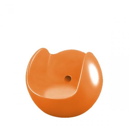 Slide Blos fotel w kolorze pomarańczowym