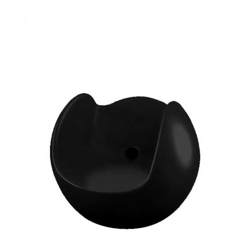 Slide Blos fotel w kolorze czarnym