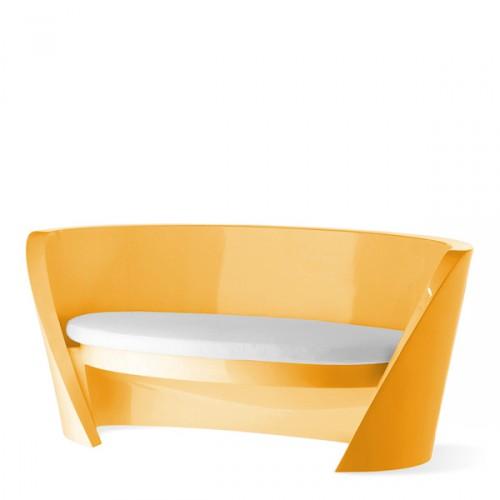 Slide Rap sofa w kolorze pomarańczowym