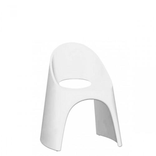 Slide Amelie krzesło w kolorze białym