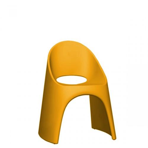 Slide Amelie krzesło w kolorze pomarańczowym