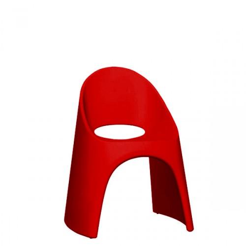 Slide Amelie krzesło w kolorze czerwonym