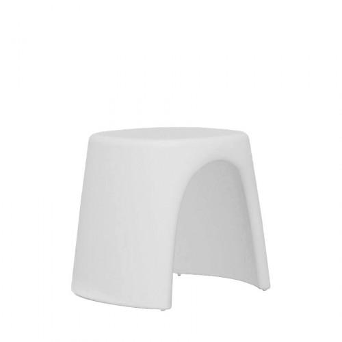 Slide Amelie Sgabello taboret w kolorze białym