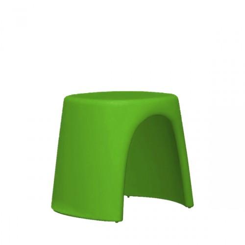 Slide Amelie Sgabello taboret w kolorze zielonym