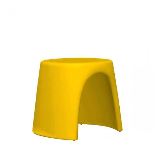 Slide Amelie Sgabello taboret w kolorze żółtym