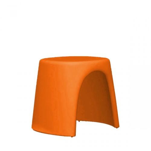Slide Amelie Sgabello taboret w kolorze pomarańczowym