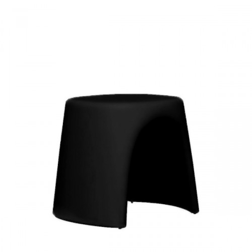 Slide Amelie Sgabello taboret w kolorze czarnym
